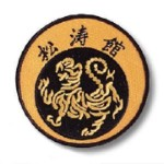 Shotokan-Round Patch