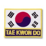 Korean Flag/Tae Kwon Do Patch