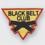 Black Belt Club Triangle Patch