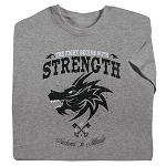 The Fight Begins with Strength Tee