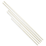 White Wax Tapered Bo Staff