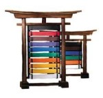 Karate Belt Rack Displays Holders