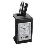 Black Belt Desk Clock