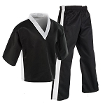 Century Team Martial Arts Uniform Black - White