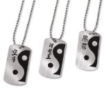 Martial Arts Dog Tags Yin Yang