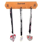 Personalized Martial Arts Medal Holder