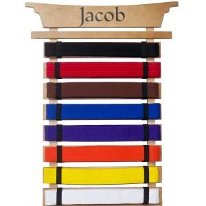 njink: Detail Woodworking plans martial arts belt rack