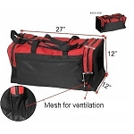 Nylon Martial Arts Gear Bag with Air Mesh