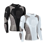 Long Sleeve Padded Compression Shirt
