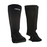 Black Shin Instep Protection Pads