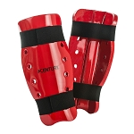 Red Student Sparring Shin Guards