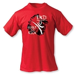 TKD Built to Kick Martial Arts Tee