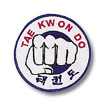 Tae Kwon Do with Fist Patch