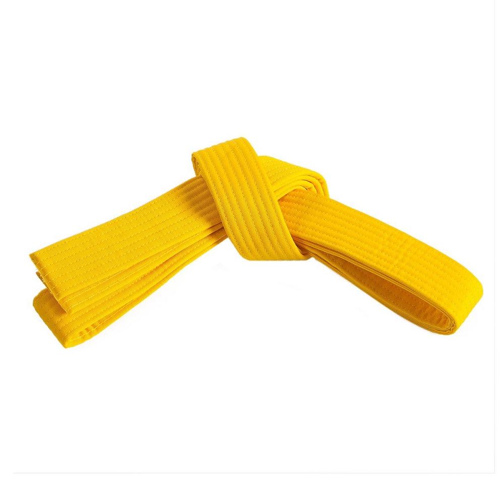 Solid Rank Double Wrap Martial Arts Belts