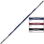 Zigzag Chrome Toothpick Bo Staff