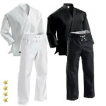Middleweight Karate Uniform with Elastic Pant