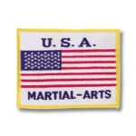 USA Martial Arts Patch