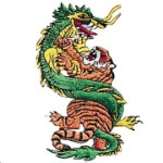 Tiger - Dragon Patch