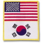 US-Korea Flag Patch