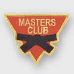 Masters Club Triangle Patch