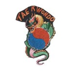 Tae Kwon Do Yin Yang Dragon