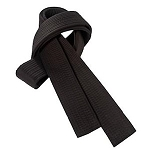 Deluxe Martial Arts Black Belts for Karate & Taekwondo