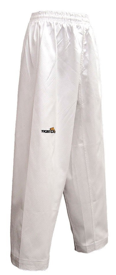 White Elite Poly Cotton Martial Pants