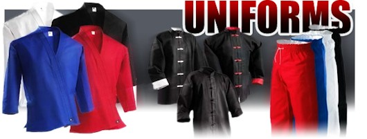 Martial Arts Uniforms sale