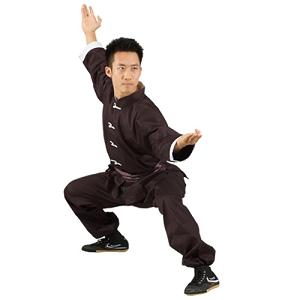 Tiger Claw White Trim Kung Fu Uniform