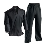 Black Student Martial Arts Uniform