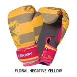 Women's Kickboxing Gloves Strive Washable Negative Yellow