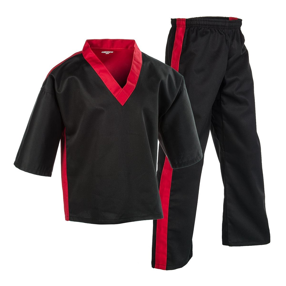 Century Team Martial Arts Uniform Black Red