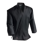 Black Middleweight Traditional Karate Jacket