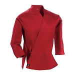 Red Middleweight Traditional Karate Jacket