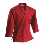 Red 8 oz. Traditional Karate Jacket