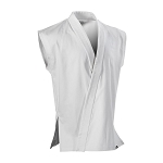 White 8 oz. Middleweight Sleeveless Karate Jacket