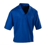 Blue 8 oz V-Neck Pullover Martial Arts Gi Top