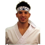Karate Kid Sytle Headband