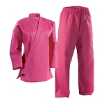 Pink Student Martial Arts Uniform