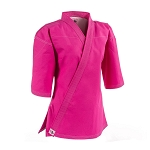 Pink Women's Heavyweight Canvas Karate Jacket