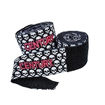 Skull Print Cotton Hand Wraps 108 inches