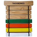 RenKata Taekwondo Belt Display Holder