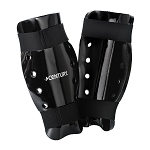 Black Student Sparring Shin Guards