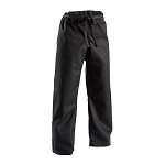 Black Middleweight Traditional Karate Pants - 8oz