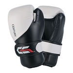 C-Gear Sparring Gloves - White-Black