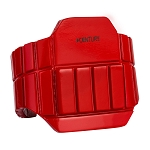 Foam Sparring Chest Protector Rib Guard - Red