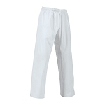 EasyFit Martial Arts Pants Elastic Waist - White