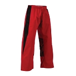 Red with Black Electric EasyFit Uniform Pants