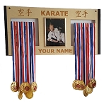 Karate Medal Hanger Holder Display