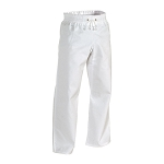 White Middleweight Contact Karate Pants